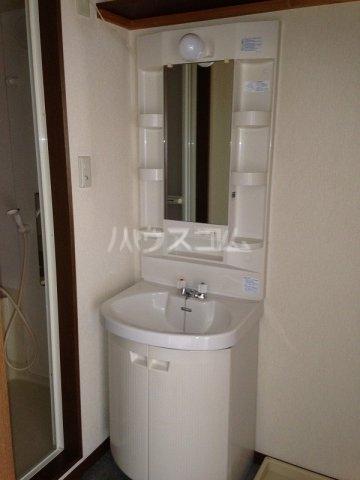 辻マンションA棟 2D号室の洗面所