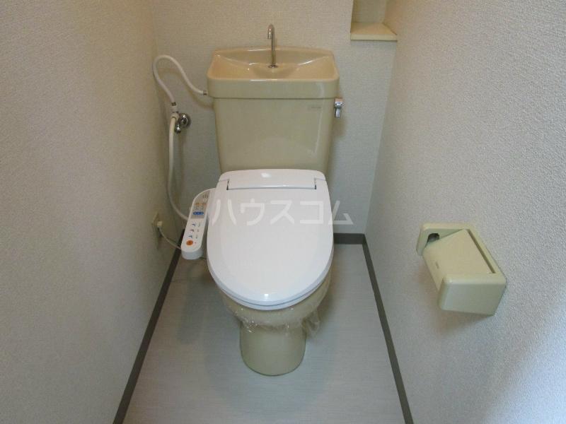 ビックメゾン 302号室のトイレ
