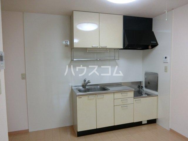 フローラルパークス B 202号室のキッチン
