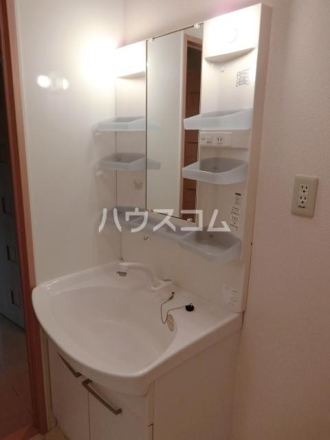 フローラルパークス B 202号室の洗面所