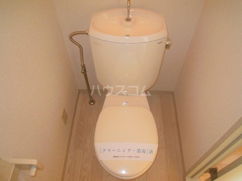グリーンキャッスル 201号室のトイレ