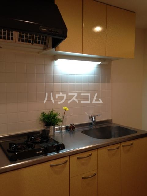 プロシード太閤通 603号室のキッチン