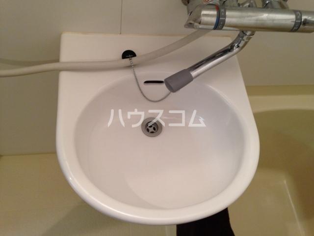 プロシード太閤通 603号室の洗面所