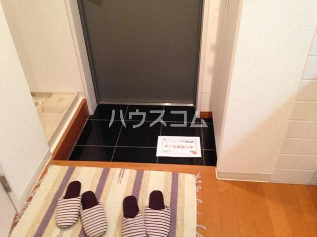 プロシード太閤通 603号室の玄関
