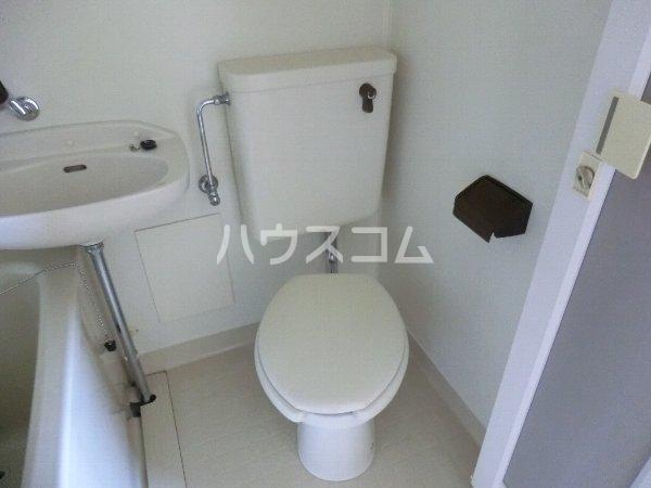 MSビル 402号室のトイレ