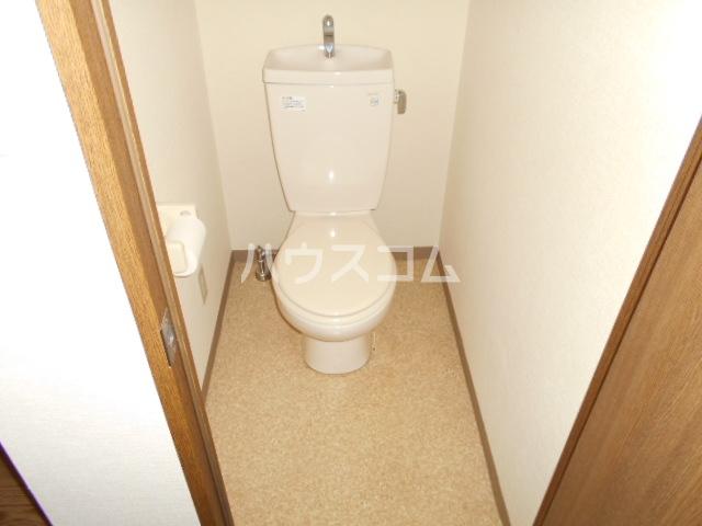 ルームIフジハイツ 302号室のトイレ