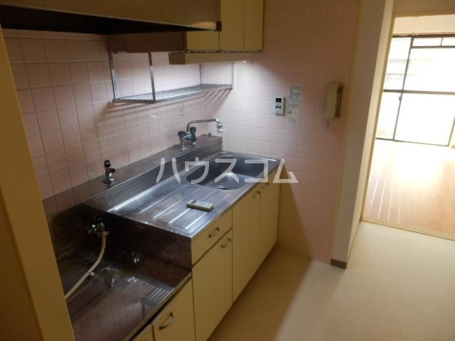 厚木メゾンドパンセ 202号室のキッチン