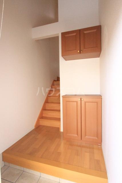 アブニール 203号室の玄関