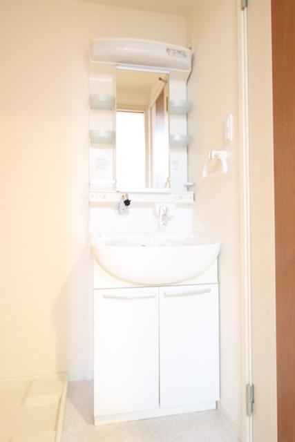 アブニール 203号室の洗面所
