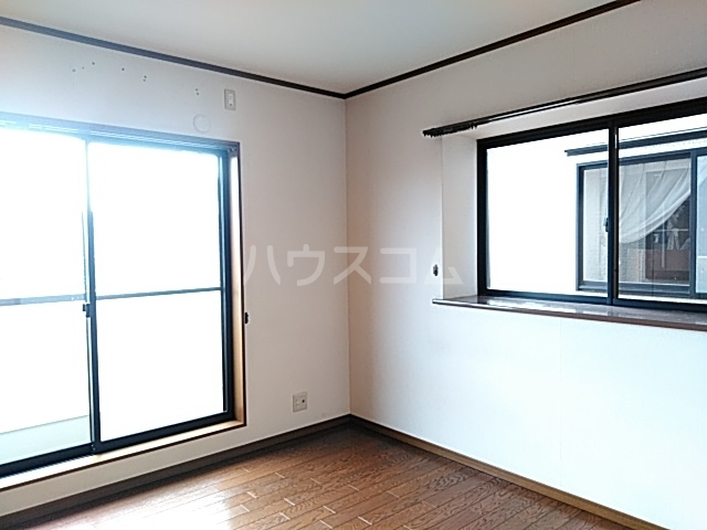 ビックストーンA 202号室のベッドルーム