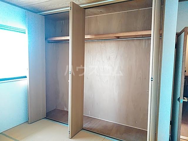 ビックストーンA 202号室の収納