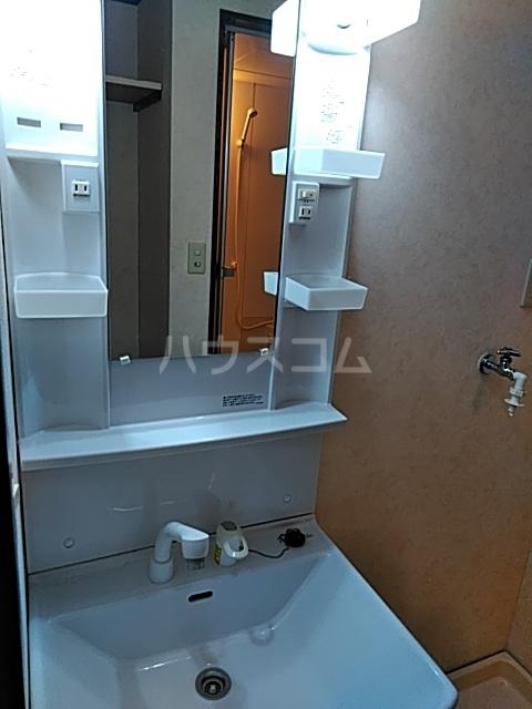 クイーンズハイツ金明 102号室の洗面所