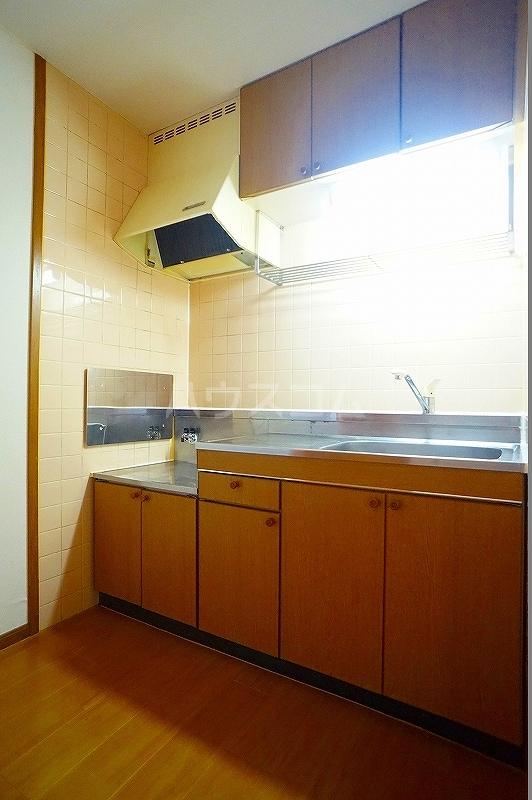 ボヌール 02030号室のキッチン