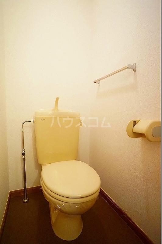 ボヌール 02030号室のトイレ