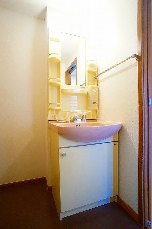 ボヌール 02030号室の洗面所