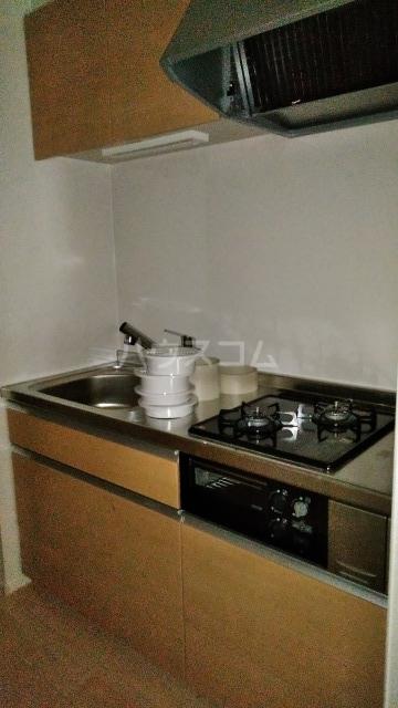 キングキャッスル 壱番館 01080号室のキッチン
