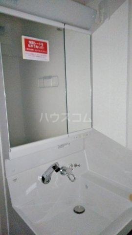 キングキャッスル 壱番館 01080号室の洗面所