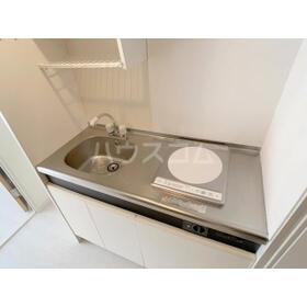白鍬グランデ 209号室のキッチン
