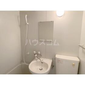 白鍬グランデ 209号室の洗面所