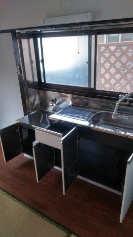 イチバハイツ 1号室のキッチン