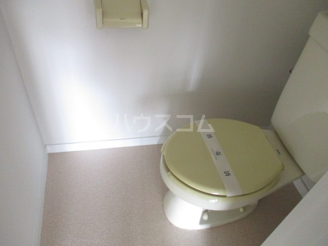 ハイツ杉山 10G号室のトイレ