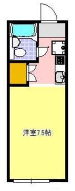 アポロン大井川 203号室の間取り