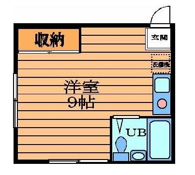 メゾンヒラヤマ・203号室の間取り