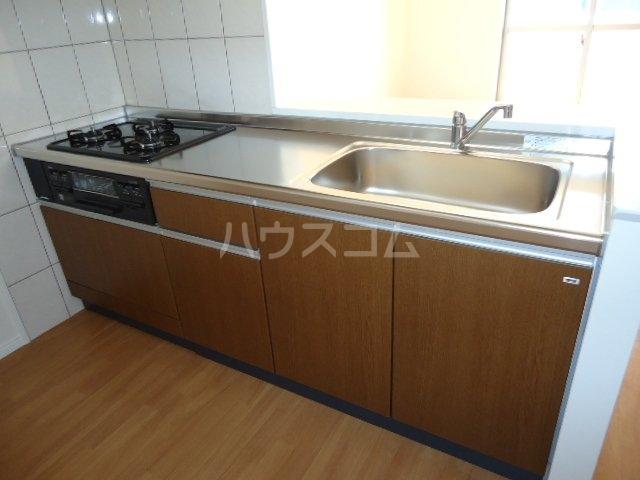 歩 205号室のキッチン