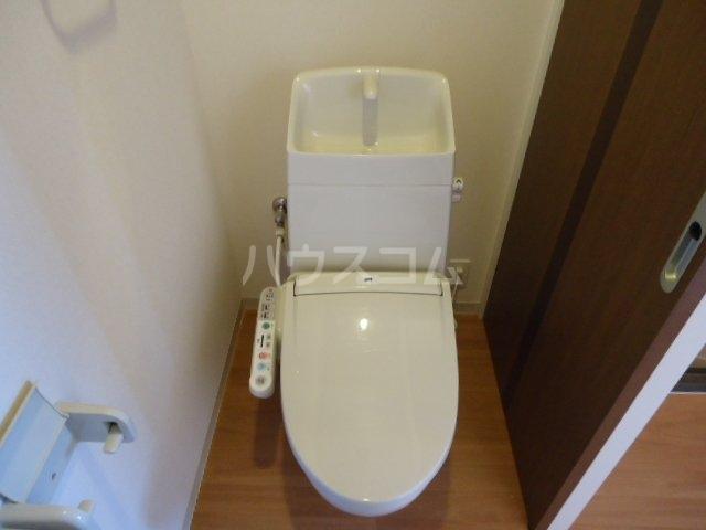 歩 205号室のトイレ