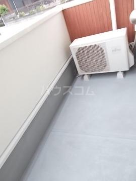ベルニーム 02010号室のバルコニー