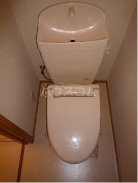 サン・ヒルズ永国A 02020号室のトイレ