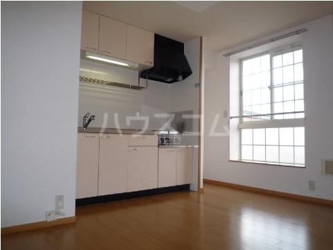 サン・ヒルズ永国A 02020号室のキッチン