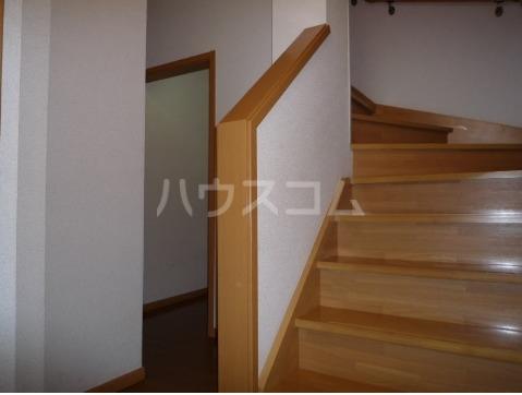 サン・ヒルズ永国A 02020号室の玄関