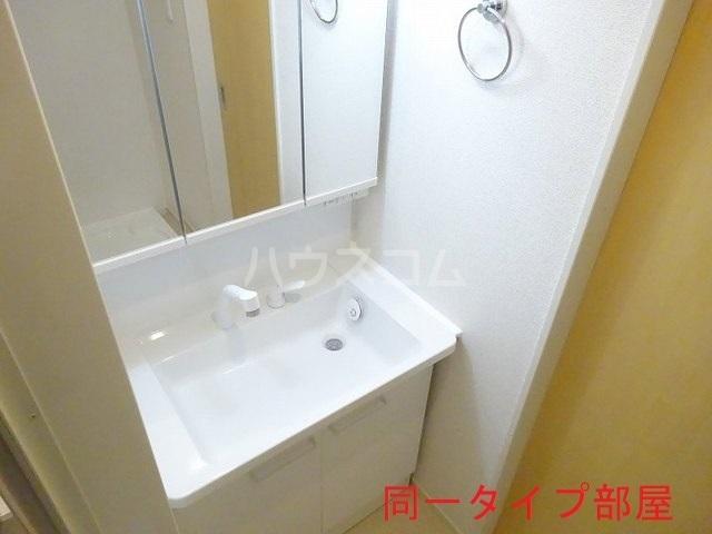 ウッドパークⅡ B 01010号室の洗面所