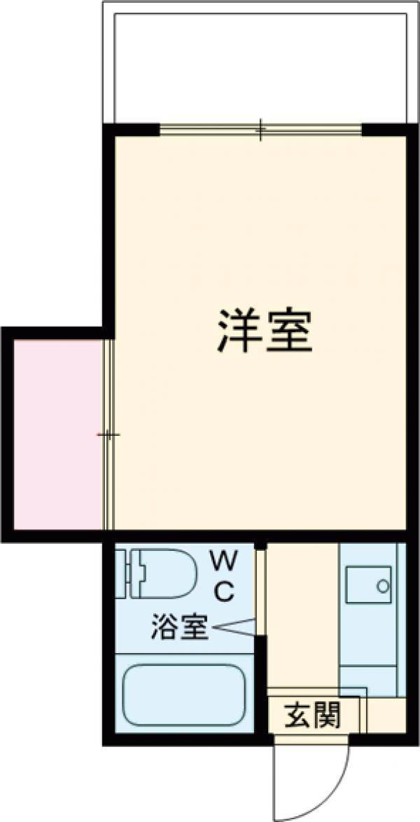 仲田マンション 304号室の間取り