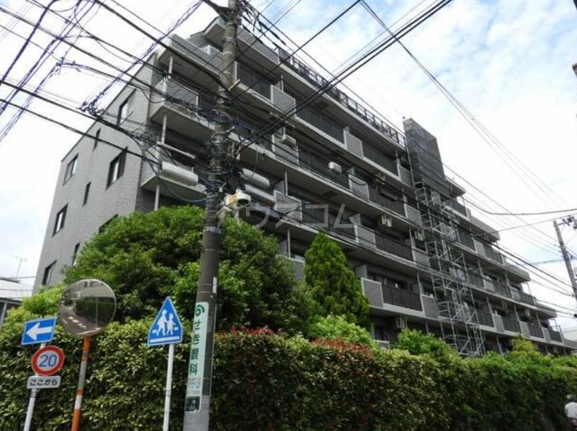 ライオンズマンション中野坂上シティの外観