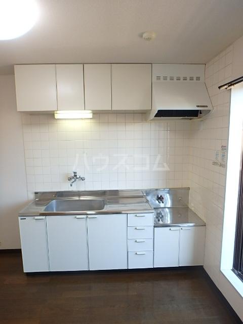 トヨコーポ 205号室のキッチン
