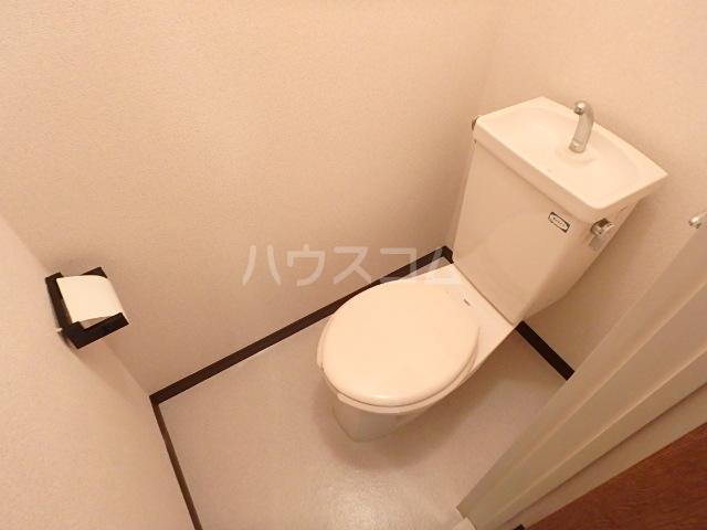 トヨコーポ 205号室のトイレ