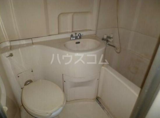 五反田サンハイツ 1012号室のトイレ