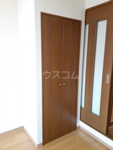 キャピタルミサト 208号室のバルコニー