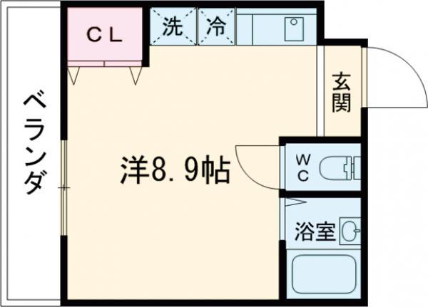 セントヤマト徳丸D棟・206号室の間取り