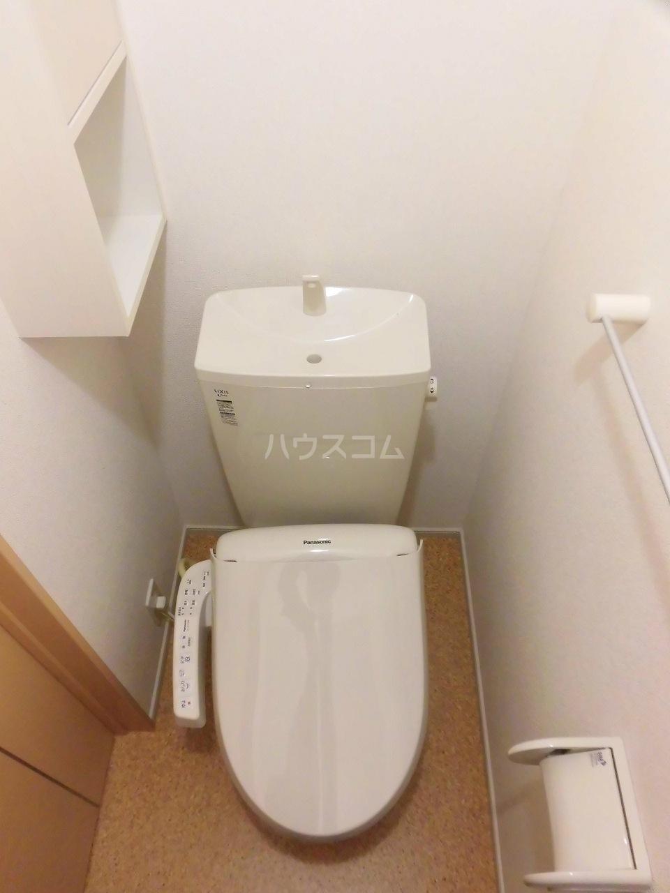 レジデンス リオ 02040号室のトイレ