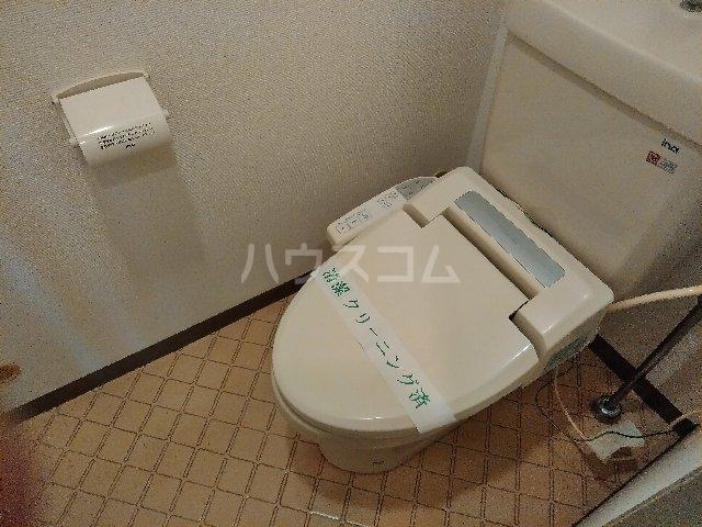 サンスクエア川崎2号館 602号室のトイレ