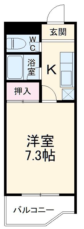 フィオーレ88 5E号室の間取り