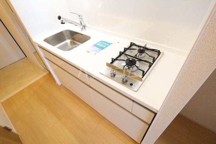 アプリコットA 02020号室のキッチン