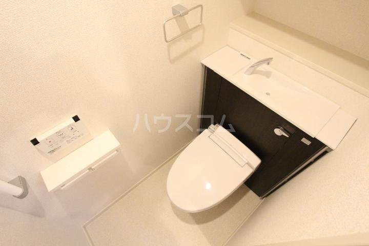 アプリコットA 02020号室のトイレ
