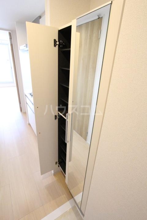 アプリコットA 03010号室の玄関