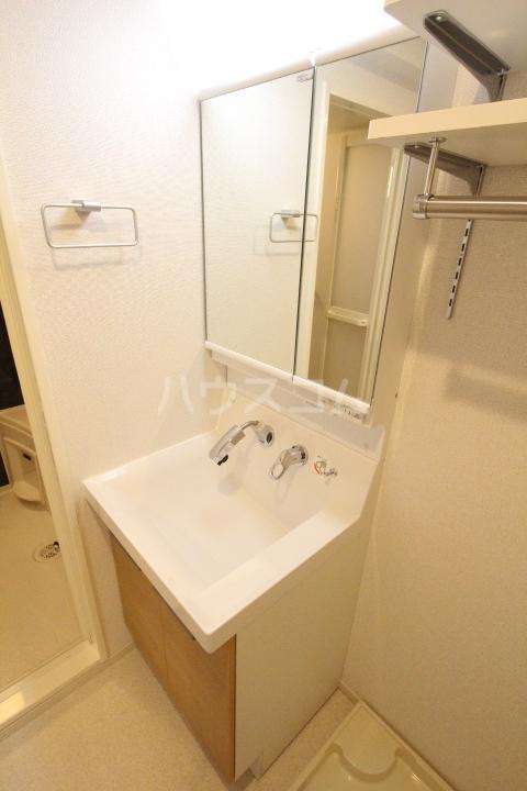 アプリコットA 03010号室の洗面所