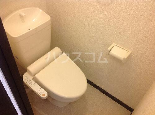 レオネクスト桃の木 101号室のトイレ