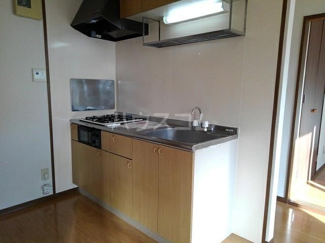 グリュークアネックス A 02020号室のキッチン